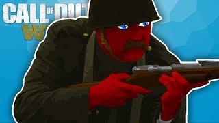 Call of Duty World War 2 | The Sniper Bush | Devil and Razer