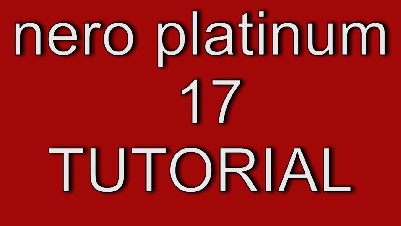 nero platinum trial