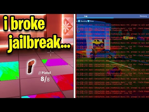 This Hacker Hacked Jailbreak And Deleted It M07t3m Roblox