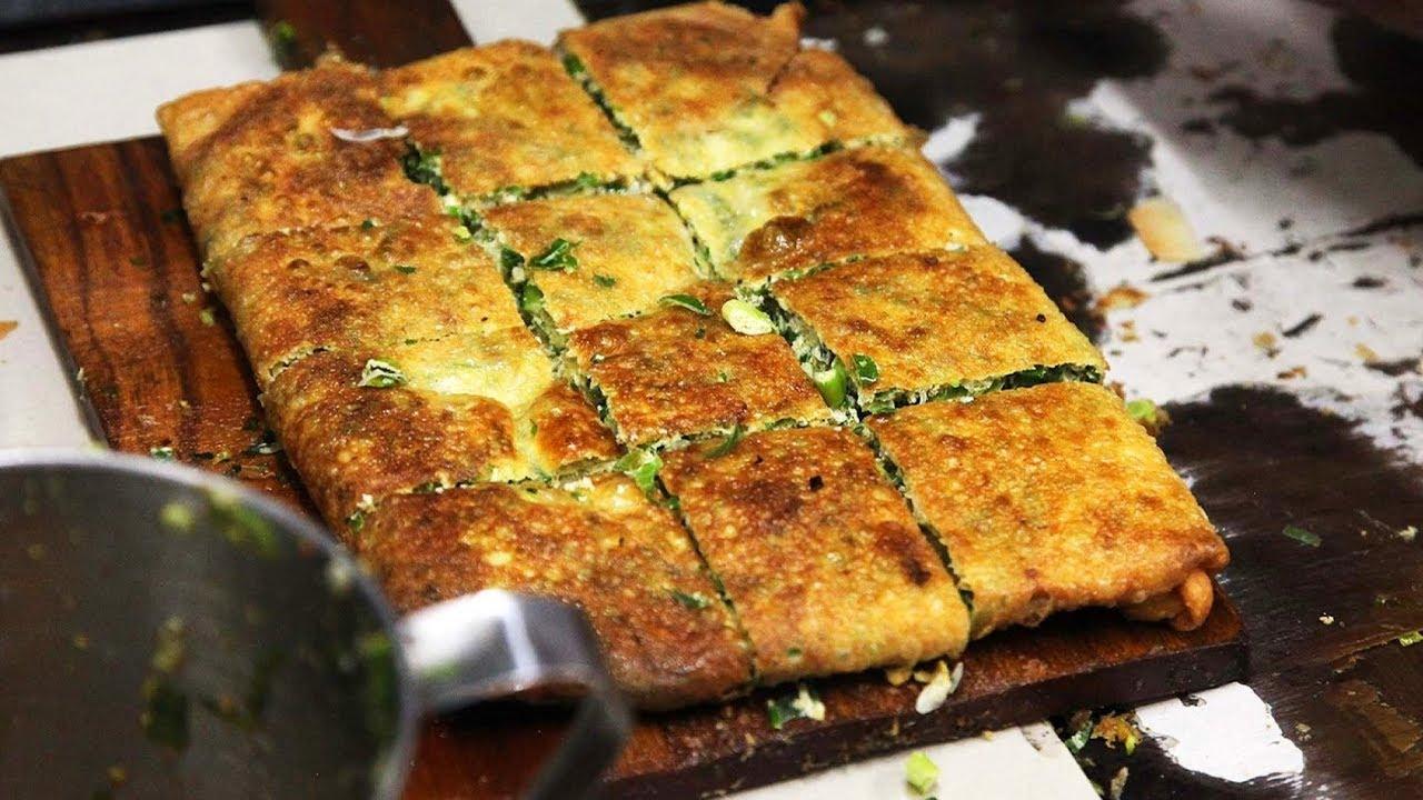 Indonesian Street Food Martabak - Delicious Street Food in Sabang Jakarta