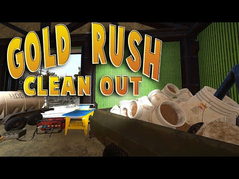 Final clean out!! Gold Rush The game Hard mode season ending.