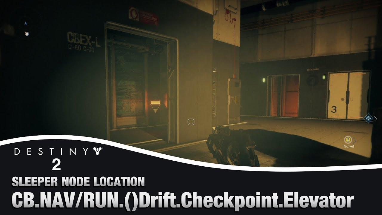 Drift Checkpoint Elevator Override Frequency & Sleeper Node