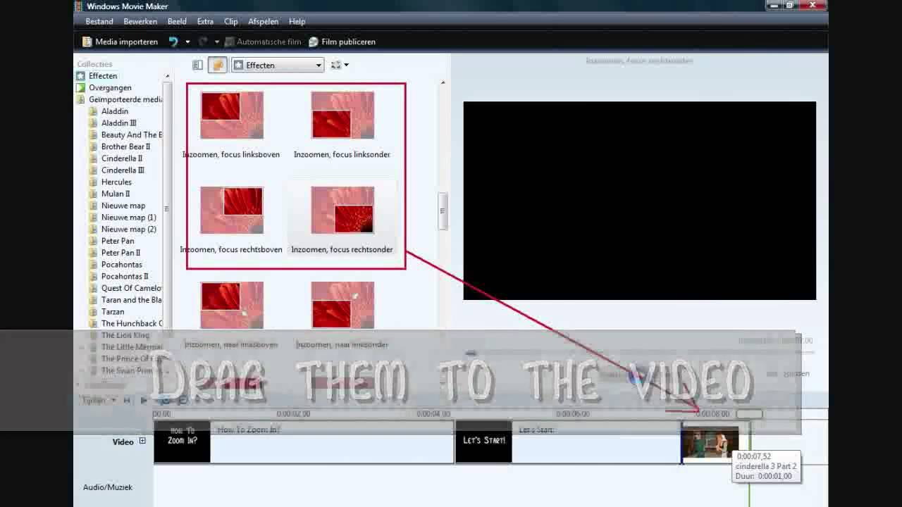 How to Use Zoom in With Windows MOvie Maker?? - YouTube