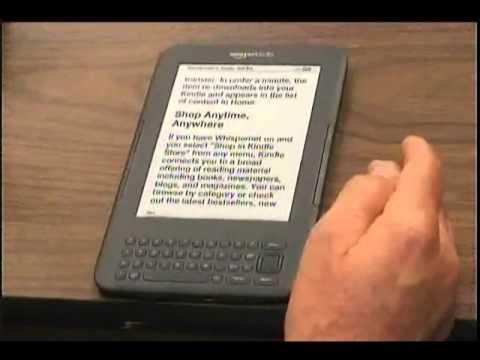 Amazon Kindle Accessibility