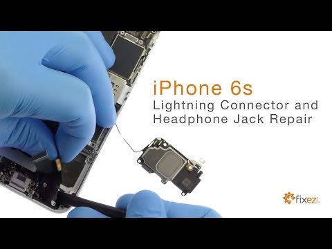 How To Repair Iphone 6s Lightning Connector And Headphone