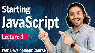 Javascript Introduction | Lecture 1 | Web Development Course