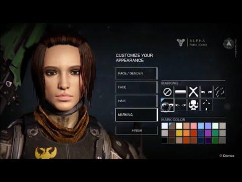 Destiny 2 Human Female