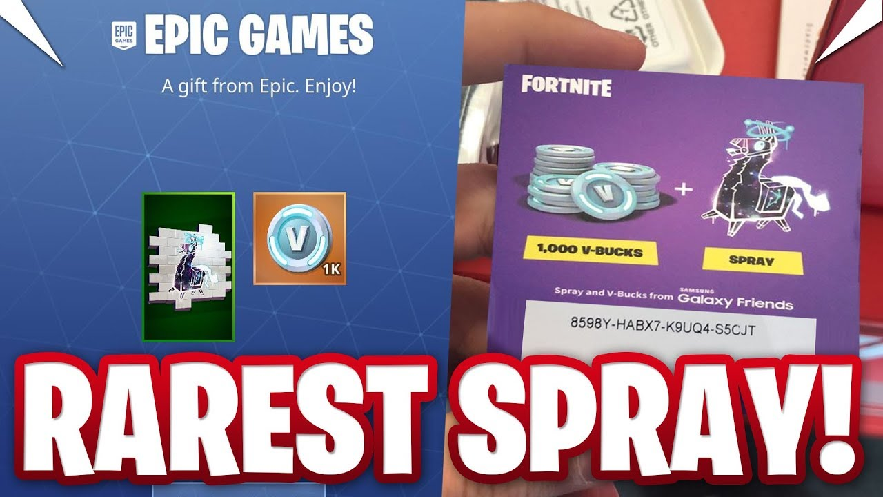 HOW I GOT THE EXCLUSIVE *LLAMALAXY SPRAY* IN FORTNITE ...