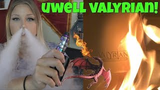 UWell Valyrian Tank - the unburnt! | TiaVapes Review