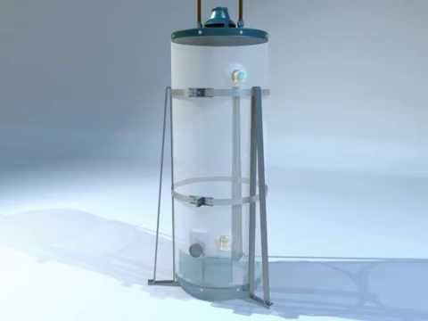 HOLDRITE Quick Stand - Safely Anchor Water Heater to Floor - Smart Contractor Products
