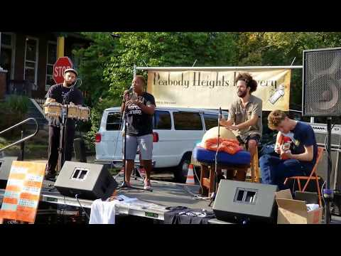 J POPE AND THE HEARNOW: Live @ The Abell Community Street Fair, Baltimore, 9/17/2017, (Camera B)