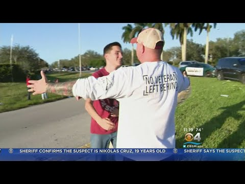 Florida School Shooting: Hugs Replace Fear As Parents Reunited With Students