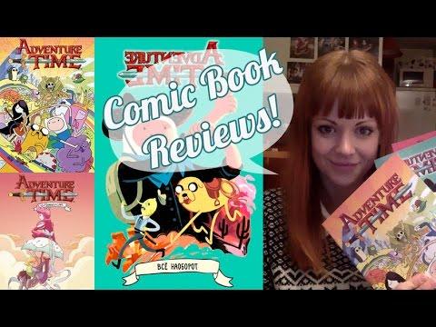 Adventure Time - Comic Book Reviews x 3