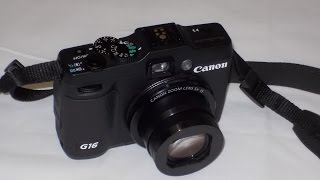 Canon PowerShot G16 Camera review by owner