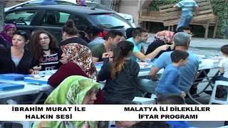 malatya ili dilekliler iftar programı 2018
