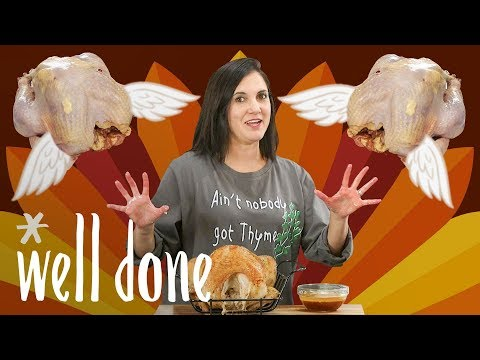 Thanksgiving Challenge: Can This Mom Make The Perfect Turkey Feast?   Mom Vs   Well Done