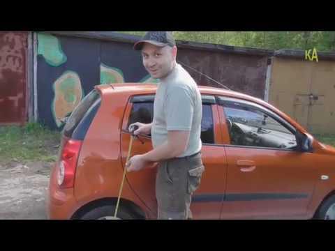 Kia Picanto меняю задние пружины и амортизаторы