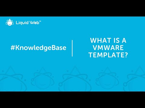 What is a VMware Template?