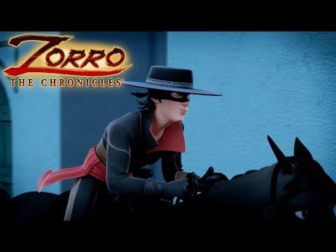 Les Chroniques de Zorro | Episode 05 | LE MAÎTRE D'ARMES | Dessin de super-héros