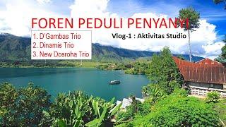 Foren Peduli Penyanyi - Dgambas Trio, New Dosroha Trio, Dinamis Trio | vlog-1 Kegiatan Studio |