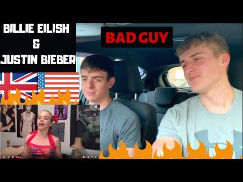 We&39;ve Converted  Billie Eilish - bad guy with Justin Bieber  GILLTYYY REACTION