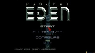 Project Eden gameplay (PC Game, 2001)