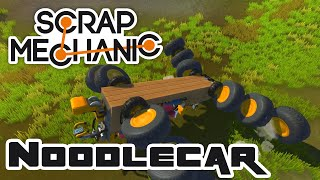 Noodlecar - Let's Play Scrap Mechanic Multiplayer - Gameplay Part 145