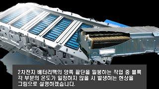 [카트리지히터 균열형 발열 온도 편차 테스트] 2차전지…