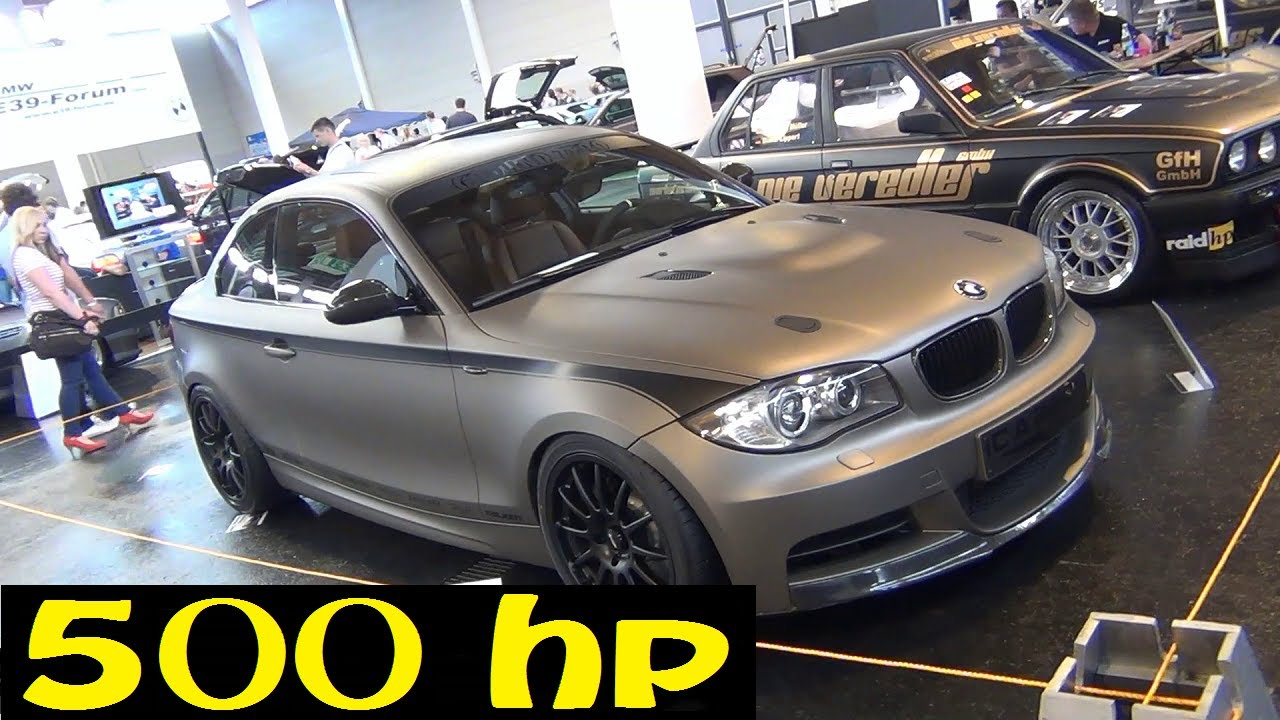 HD) 500 Horsepower BMW 135i Twin Turbo !   YouTube