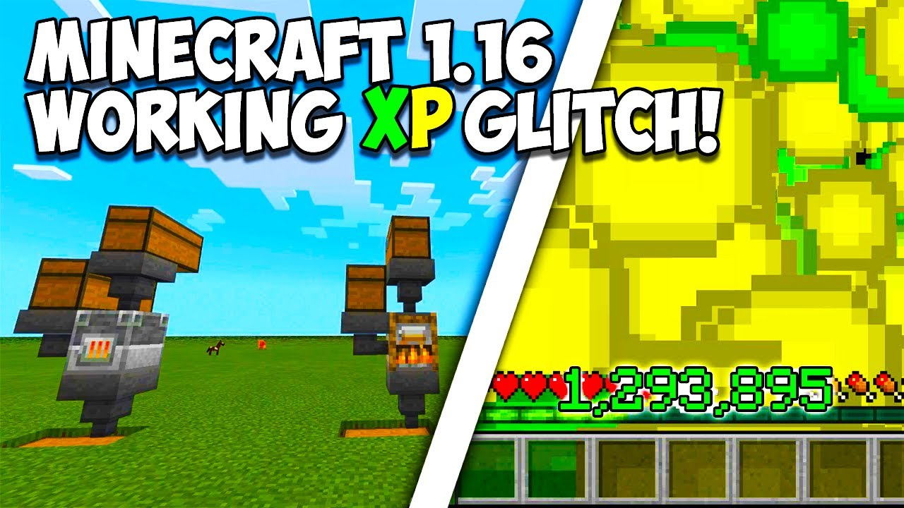 "Minecraft Bedrock 10.106 - SIMPLE UNLIMITED XP GLITCH! ""PS10, XBOX, MCPE,  WINDOWS 100"""
