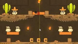 Mummy Blaster -  Walkthrough (1-15 levels)