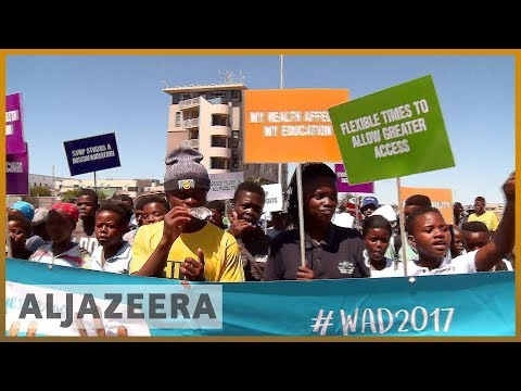 🇿🇦World AIDS awareness day march in Cape Town l Al Jazeera English