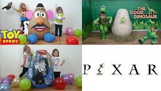 disney pixar super giant egg surprise 1 toy story good dinosaur inside out the disney toy collector