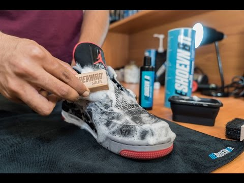 Restorations with Vick - Air Jordan Bred 4 Deep Cleaning and Midsole Repaint