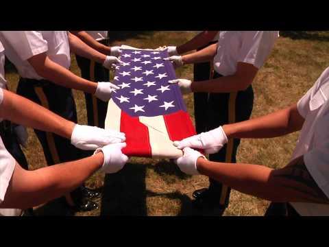 How To: Ceremonial Flag Folding