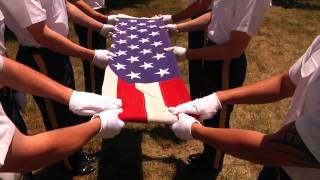 How to: Ceremonial Flag Folding