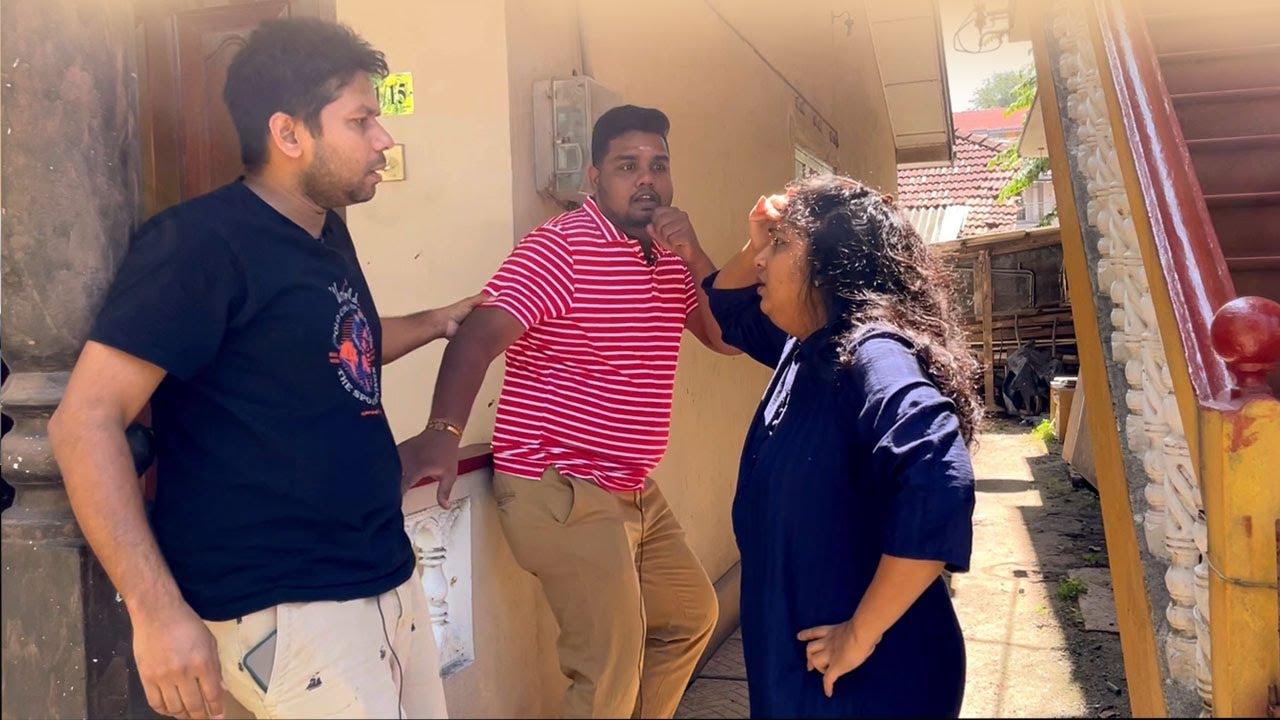 பழைய காதலி | Corona positive | Tamil Comedy Funny Video | Rj Chandru & Menaka