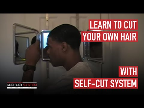 Learn to cut your own hair with the self cut system youtube learn to cut your own hair with the self cut system solutioingenieria Images