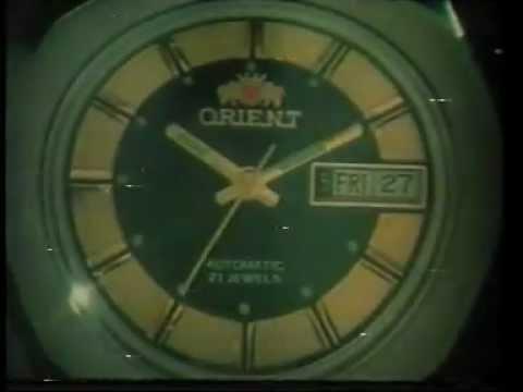 iklan jadul Watch-Orient