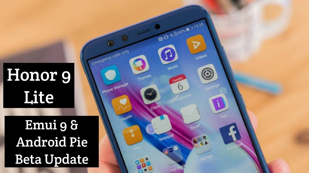 Honor 9 Lite Emui 9 and Android 9 Pie Beta Update