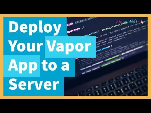 Swift Vapor Tutorial: Deploy Your Web App To An Ubuntu Server With NGINX And Supervisor