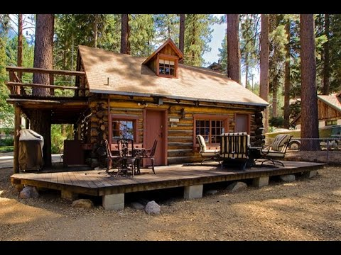 Lake Tahoe Log Cabin :: Small House Design Ideas