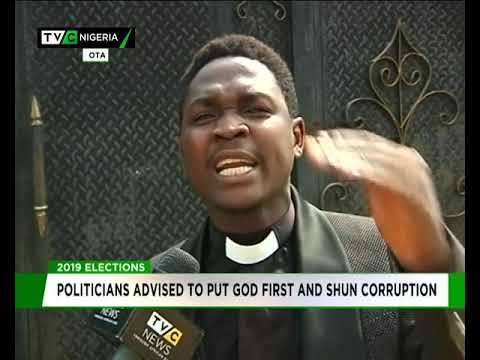 Politicians advised to put God first and shun corruption
