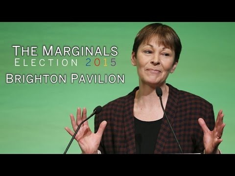 Election 2015: Caroline Lucas and the battle to keep Brighton Pavilion Green