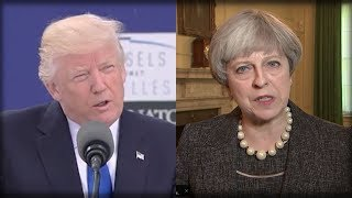 RIGHT AFTER HORRIBLE LEAKS, TRUMP JUST MADE PROMISE TO ENGLAND THAT WILL DESTROY THE LEAKERS! thumbnail