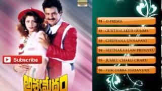 Telugu Hit Songs | Ashwamedham Movie Songs | Balakrishna, Nagma