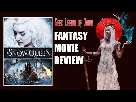 THE SNOW QUEEN ( 2013 )  aka Die Schneekönigin Fantasy Movie Review