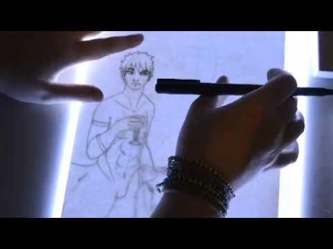 Watercolor Timelapse Tobirama Senju Fanart Naruto Youtube