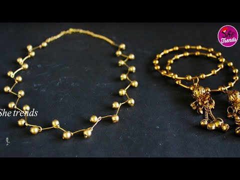 How To Make Beautiful Handmade Necklace || Party wear necklace New Designs || Diy Ideas 2018