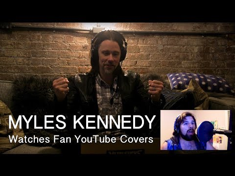 MYLES KENNEDY Watches Fan YouTube Covers | MetalSucks